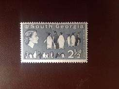 South Georgia 1963 21/2d Penguins Birds MH - Sin Clasificación