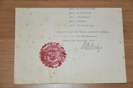 1762- Altes Dokument Aus Bremen - Alte Papiere