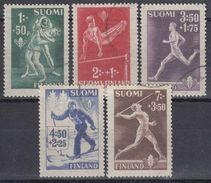 FINLANDIA 1945 Nº 282/86 USADO - Finlandia