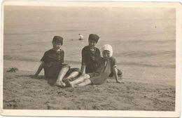 Z3432 Francavilla Al Mare (Chieti) - La Spiaggia - Bambini - Enfants - Children - Kinder - Nino / Viaggiata 1913 - Italia