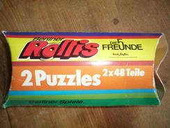 """2 Puzzles 5 Freunde """"Berliner Rollis"""" 70er Jahre - Andere Sammlungen"""
