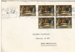 VALENCIA CC SELLO ARTE PINTURA ROSALES - Arte