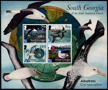 South Georgia 2017 - Faune, Oiseaux Protegés, Albatros - BF Neuf // Mnh - Géorgie Du Sud