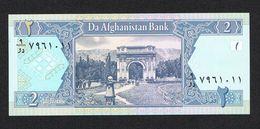 ) AFGHAISTAN  2 AFGHANIS  2002  FDC - Afghanistan