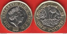 "United Kingdom 1 Pound 2016 ""Nations Of The Crown"" BiMetallic - 1971-… : Decimal Coins"
