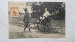 CPA  Chine Shanghai - Jinricksha 1913 Non Voyagé - Chine
