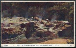 1914 Mud Geysers, Porridge Pots, Whakarewarewa New Zealand.Brett Postcard (message, But Not Posted) - New Zealand