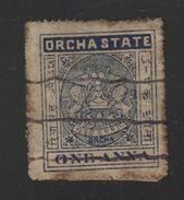 ORCHHA State  1A  Revenue Type 10  K&M 101  #  98162  Inde Indien India  Fiscaux  Revenue - Orchha