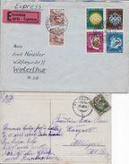 KANTON FREIBURG → 5 Heimatbelege ►weitere Info In Der Beschreibung◄ - Collections