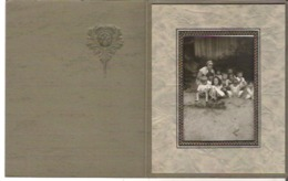 """Photo Of Children From Possibly The Danville Kingsley Falls Area Of Quebec 2"""" X 3""""  5 Cm X 7.7 Cm - Anonymous Persons"""