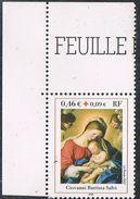 FRANCE : N° 3531 ** Coin De Feuille (Croix-Rouge) - PRIX FIXE - - France