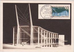 PAVILLON DE LA VILLE DE PARIS - EXPOSITION UNIVERSELLE DE BRUXELLES - Expositions