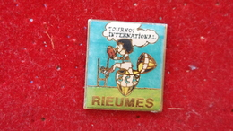 Pin Rugby Tournoi International Rieumes - Rugby