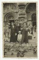 FOTO DI DUE COPPIE A VENEZIA 1933  NV FP - Fotografia