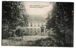 Oud-Turnhout - Kasteel Van Corsendock (voorgevel) - Uitg. Van Mierlo Andriesen - 2 Scans - Oud-Turnhout