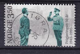 Norway 1995 Afa 1178 Befrielsen DELUXE Cds. VIGRA - Norwegen