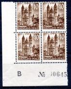 Zone Française - RHENO-PALATIN - RHEINLAND PFALZ - YT N° 36 Bloc De 4 Neuf ** - MNH - Cote 16,00 € - Zona Francese