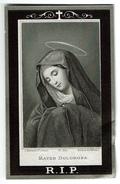 Souvenir Pieux - Marie Anne Jeanne SWAAN - Turnhout 1813 / 1893 - 2 Scans - Devotion Images