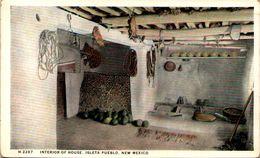 Interior Of House - Isleta Pueblo, New Mexico - Etats-Unis