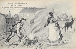 Légende De Saint-Saulge - Les Lapins - Collection Roubé - Carte N° 10 Non Circulée - Fairy Tales, Popular Stories & Legends