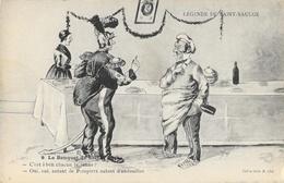Légende De Saint-Saulge - Le Banquet De Sainte Barbe - Collection Roubé - Carte N° 9 Non Circulée - Fairy Tales, Popular Stories & Legends