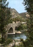 N°54482 GF-cpsm Chanac -le Pont Vieux Sur Le Lot- - Chanac