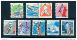Japan 1992 - - 1999 National Sports Festival 9 Full - Gebruikt