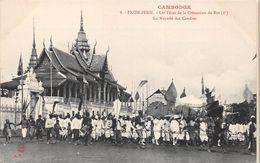 CAMBODGE -  PHNOM-PENH  - Les Fêtes De La Crémation Du Roi  -  La Noyade Des Cendres - Cambodge
