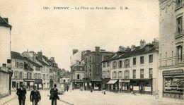 78   POISSY  LA PLACE DU  PETIT MARCHE - Poissy