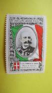 Vignette Italie  Marche Nationaliste Per La Piv Grande Italia Tommaso Di Savoia  Duca Di Genova - Cinderellas