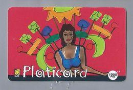 Telefoonkaart.- Télécartes. Telecard. Phone Card. Platicard 1000 Ptas. IDT. Gebruikt. - Spanje