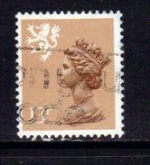 Scotland GB 1986 13p Pale Chestnut Machin Type 2 SG S 53 ( A682 ) - Regional Issues