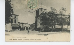 TARGON - Place De L'Eglise Saint Romain - France