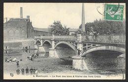 MONTLUCON Le Pont Des Isles & L'Usine Des Fers Creux (KD) Allier (03) - Montlucon