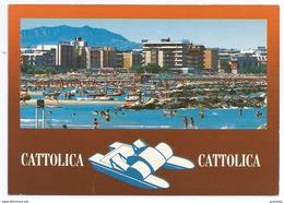 1995, Rimini - Riviera Adriatica -  Cattolica - La Spiaggia. - Rimini