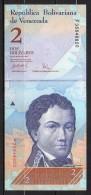 523-Venezuela Billet De 2 Bolivares 2007 F358 Neuf - Venezuela