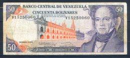 506-Venezuela Billet De 50 Bolivares 1992 V152 - Venezuela