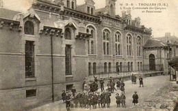 CPA - THOUARS (79) - Aspect Du Pensionnat-Ecole Communale Des Garçons En 1919 - Thouars