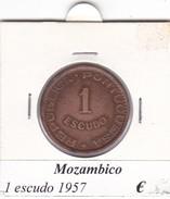 MOZAMBICO   1 ESCUDO   ANNO 1957  COME DA FOTO - Mozambico