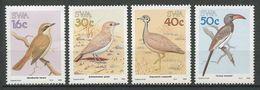SWA 1988  N° 586/589 ** Neufs MNH Superbes Cote 5,50 € Faune Oiseaux Tockus Birds Faune Fauna Animaux - Namibia (1990- ...)