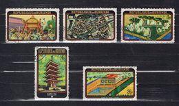 5 TIMBRES BURUNDI - 1970 Séries: EXPO '70 Osaka - 1962-69: Afgestempeld