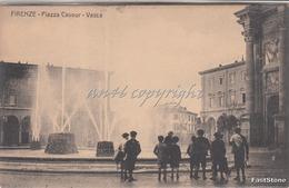 FIRENZE-Piazza Cavour-Vasca_Vg Il 22.11.1906- Originale100%_2 Scan- - Firenze (Florence)