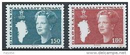 Groënland 1982 N°122/123 Neufs Reine Margrethe - Greenland
