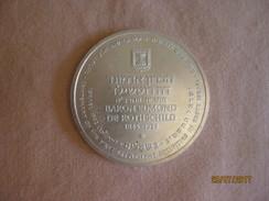 Israel: Médaille Edmond De Rothschild 1982 - Non Classés