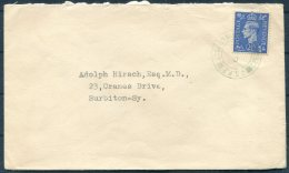 GB Czechoslovak Forces In Exile, Fieldpost Czech Army & Airforce Cover C.S.P.P. - Surbiton - 1902-1951 (Kings)