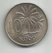 Nigeria 10 Kobo 1973. KM#10.1 - Nigeria