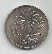 Nigeria 10 Kobo 1976. KM#10.1 - Nigeria