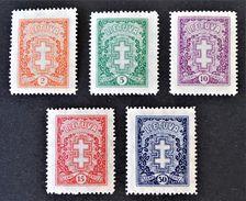 CROIX DE LORRAINE 1929/31 - NEUFS * - YT 283A/86 - Litauen