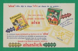 Buvard - Levure ALSACIENNE - ALSASTICK - Blotters