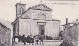 [85] Vendée > Bretignolles Sur Mers église De La Plage De Bretignolles - Bretignolles Sur Mer